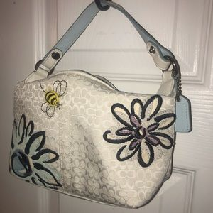 Coach limited edition spring purse